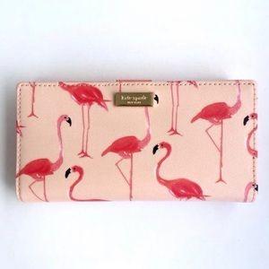 Kate Spade Shore Street Stacy Flamingo Wallet